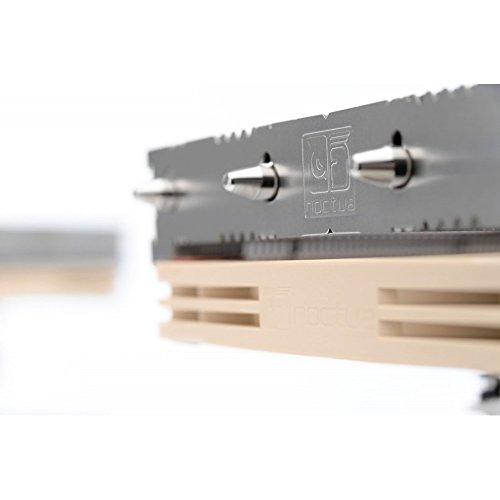 Disipador de CPU NH-L12S de Noctua, de 70mm y bajo perfil con ventilador silencioso de 120mm y PWM