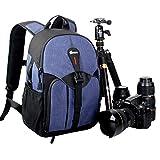 LIZIBAO Kameratasche Reisetasche Schulter SLR Anti-Diebstahl-Kamera Tasche Canon Nikon Männer und Frauen Outdoor-Rucksack (Farbe : B)