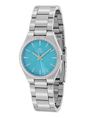 Reloj Marea Mujer B21169/2 Plateado y Azul