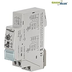 Minuterie d'éclairage Green Blue GB114 pour éclairage d'escalier ou de couloir