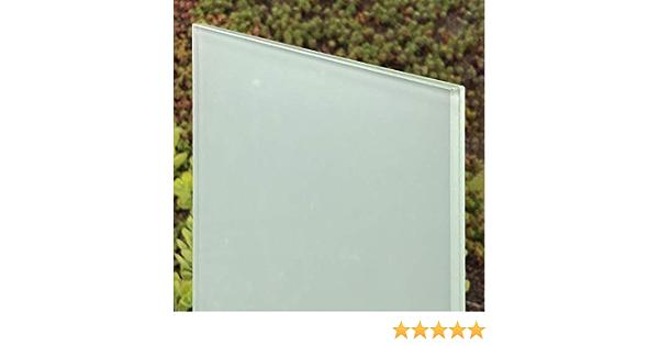 Nach Ma/ß bis 40 x 40 cm 400 x 400 mm Kanten geschliffen und poliert biege- und sto/ßbelastbar Ecken gesto/ßen klar durchsichtig Glasplatten ESG 6mm Kantenstempel. ESG nach DIN