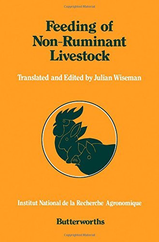 Feeding of Non-ruminant Livestock par J.D. Blum