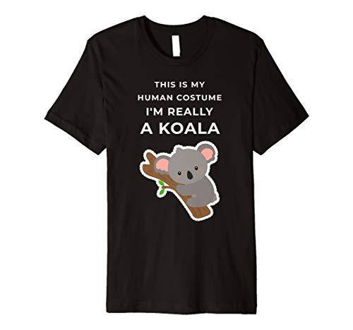 (Echthaar-This is my Halloween – I 'm Really A-T-Shirt)