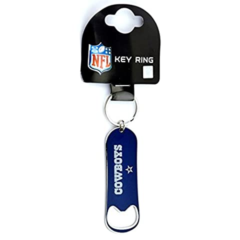 Forever Collectibles Dallas Cowboys Bottle Opener NFL Key Ring