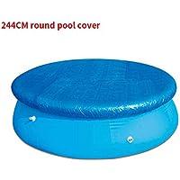LMTXXS - Funda para piscina, cubierta de drenaje para detener las hojas, fácil de instalar antipolvo y resistente a la lluvia, resistente a la lluvia
