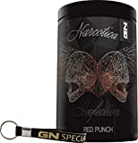 Limited Edition Narcotica Infection Pre-Workout Hardcore Booster Trainingsbooster Bodybuilding 400g inkl. Armband (Exotix Fruit - Exotische Früchte)