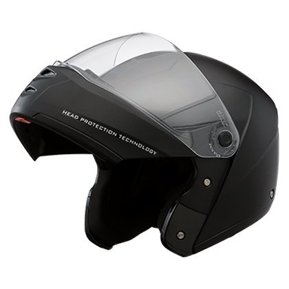 Studds Ninja Elite Full Face Helmet with Carbon Center Strip (Black, L)