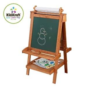 KidKraft - 62008 - Loisir Créatif - Chevalet Ajustable en Bois
