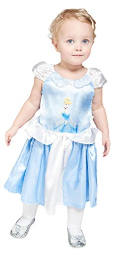 erdbeerloft - Mädchen Karneval Kostüm Cinderella , Mehrfarbig, Größe 80-86, 12-18 (12 Monate 18 Kostüm Elsa)