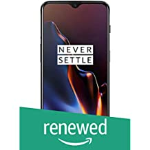 (Renewed) OnePlus 6T (Mirror Black, 8GB RAM, 128GB Storage)