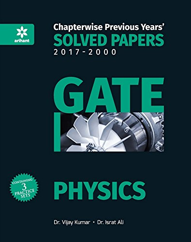 Chapterwise Solved Papers Physics GATE 2018