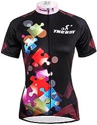 nouvelles femmes de style vélo à séchage rapide vélo Maillot manches courtes