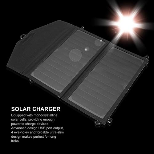 5V 2A 12W High Efficiency Portable Solar Panel Charger USB Folding Charging Bag Universal for Smart Mobile Phone