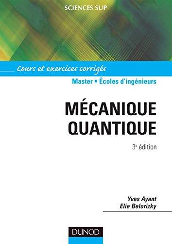 Mécanique quantique - 3ème édition