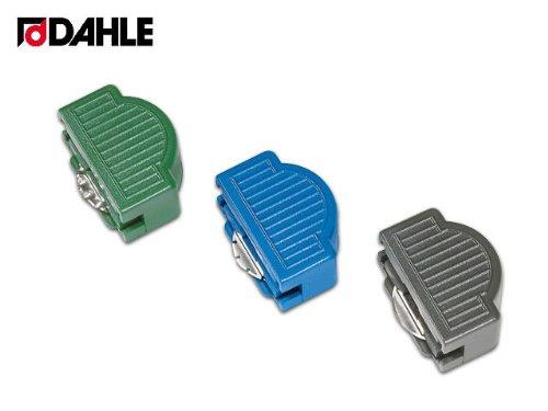 dahle-perforatrice-con-set-di-testine-include-testina-per-tagliare-a-zig-zag-colore-blu