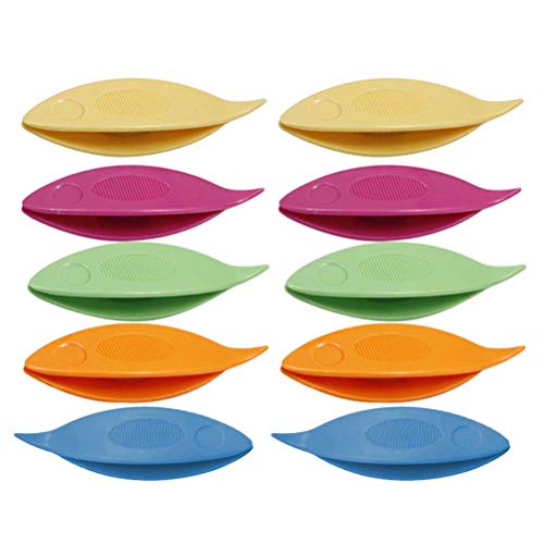 Supvox strumento di chiacchierino navetta plastica fai da te per mestiere 10pcs
