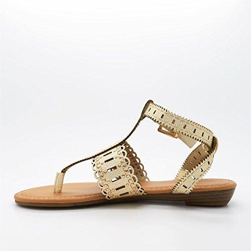 New Look ,  Damen T-Bar Gold