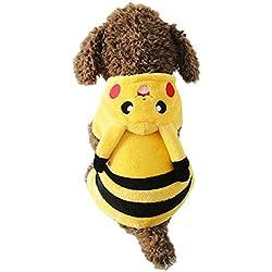 Disfraz de Pikachu para perro y gato (M)