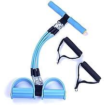 Anam máquinas de pierna bandas de resistencia elástico bandas de resistencia ejercicio Pilates para cuerda, ejercicio, azul