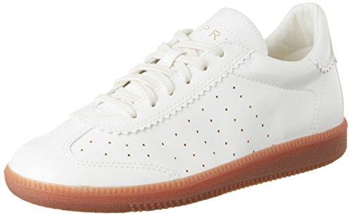 ESPRIT Damen Trainee Lace Up Sneaker, Weiß (White 100), 40 EU