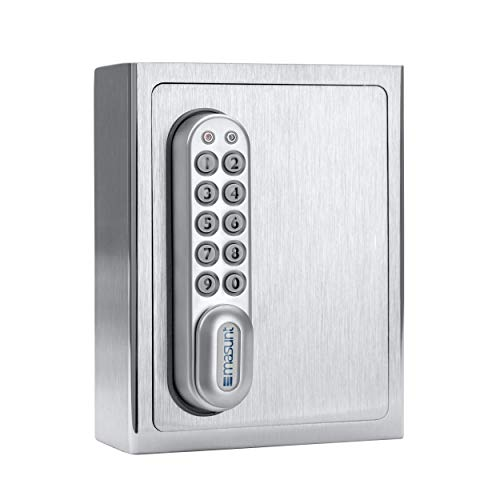 masunt Schlüsselsafe 1120 E Code (V2A) – Der elektronische Schlüsseltresor mit Zahlencode