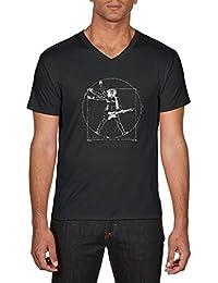 Touchlines Da Vinci Rock Guitar, T-Shirt Homme