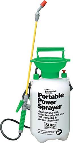 Portable Power Wash Spritzgerät für Reinigung Auto Garten Fenster etc Handpumpe Druckstrahllanze mit Tank 5L