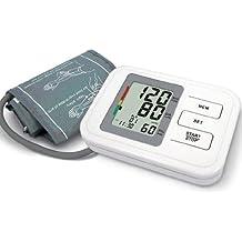 Oberarm-Blutdruckmessgerät mit Speicher, unregelmäßiger Herzschlag Funktion, Datum, Uhrzeit - einschließlich Erwachsenenmanschette