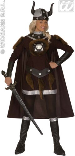 Kostüm-Set Wikingerin, Größe XL (Womens Roman Gladiator Kostüm)