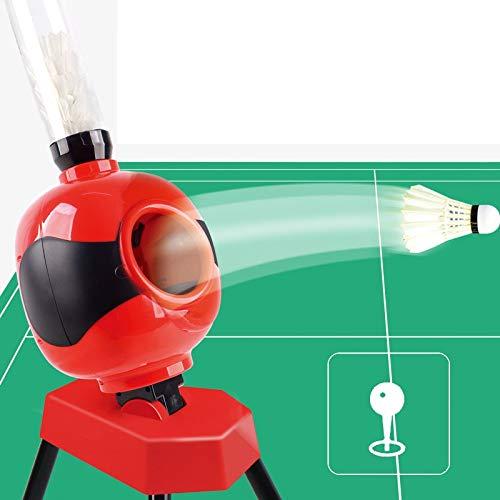 Badminton Serve Maschine zur Verfügung Stellen bewegliche automatische Sparring Badminton Serve Geeignet for Anfänger Kinder Praxis