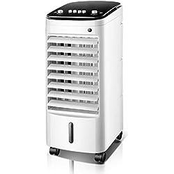 Alvnd Refroidisseur par évaporation domestique, refroidisseur d'air, humidificateur speed Vitesse du vent du troisième engrenage , Climatiseur for dortoirs d'intérieur for bureaux à domicile (23,6 pou