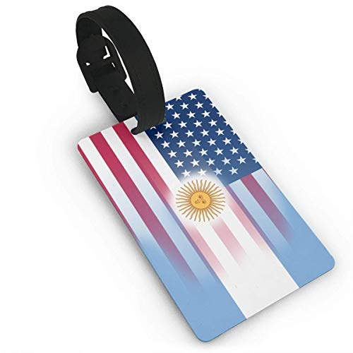 USA Argentina Flag Luggage Tags ID Convenience Accessioes