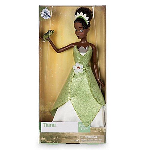 Offizielle Disney Princess & The Frog 33cm Tiana Klassische Puppe mit Naveen Frosch