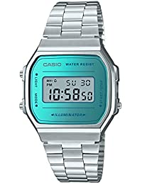 f56ba52908b Casio Vintage Series Digital Blue Dial Unisex Watch - A168WEM-2DF (D160)