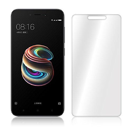 Granadatech Xiaomi Redmi 5A Protector de Pantalla Cristal Templado Xiaomi Redmi 5A [No Cubre el Borde Biselado] I Vidrio Templado, Fijación Burbujas I HD, Dureza 9H - Kit de Instalación Incluido