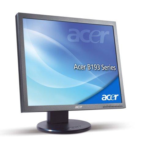 Acer B193 48,3 cm (19 Zoll) TFT Monitor (Kontrastverhältnis 2.000:1, 5ms Reaktionszeit) mit DVI