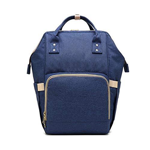 TONGSH Wickeltasche für Babywindel, große Wickeltasche für Mama und Papa mit Laptopfach Tote Bag Organizer Wickeltasche für Wickler (Farbe : D)