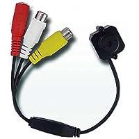 BW® Micro telecamera cablata a colori pinhole audio, colore: