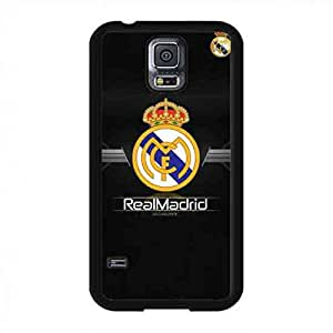 Klassiker Primera División Logo Entwurf Telefonkasten,Real Madrid Logo handyhülle schutzhülle,Harte/Hart Telefonkasten Schutzhülle für Samsung Galaxy S5