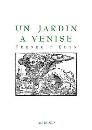 Un jardin  Venise