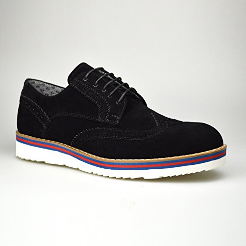 ClassyDude , chaussures compensées mixte adulte fille femme garçon Noir