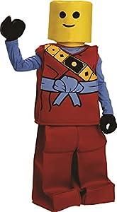 Dress up America - Disfraz de Block Ninja para niños en Halloween, traje rojo