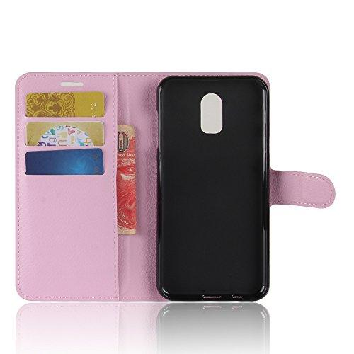Funda   Capirotazo Billetera Funda para Samsung Galaxy J7 Plus Samsung Galaxy C7 2017   Rosado