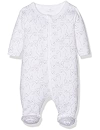 Name It Nitudos Nightsuit Wzip Wf Mznb, Grenouillère Mixte Bébé
