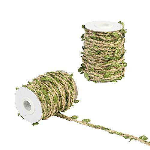 tliche Blätter Schnur Plastikpflanzen Girlande Hochzeit Deko Efeugirlanden Künstlich Efeu Ranke Hochzeitsdekoration für Hause Garten Wand ()