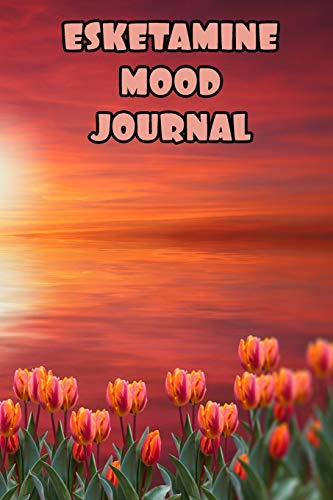 Esketamine Mood Journal: Mental Health Daily Tracker Prompt Journal | A Daily Mood, Fitness & Health Tracker & Self Care Journal for Women and Men. V3 V3 Glitter