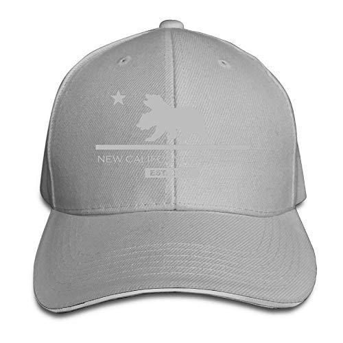 KKAIYA New California Republic Snapback Hats Fitted Sandwich Cap Cap Bmw-sandwich-cap