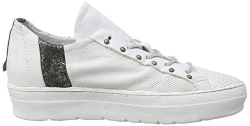 A.S.98 135133, Baskets Basses femme Blanc - Weiß (Bianco)