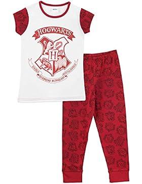 Harry Potter - Pigiama a maniche corte per Ragazze - Hogwarts
