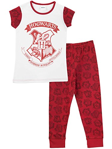 Harry Potter Girls Harry Potter Pyjamas Hogwarts Ages 4 to 13 Years